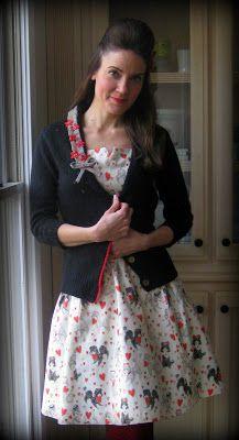 Cassie Stephens: DIY: A Poodle-tastic Valentines Dress