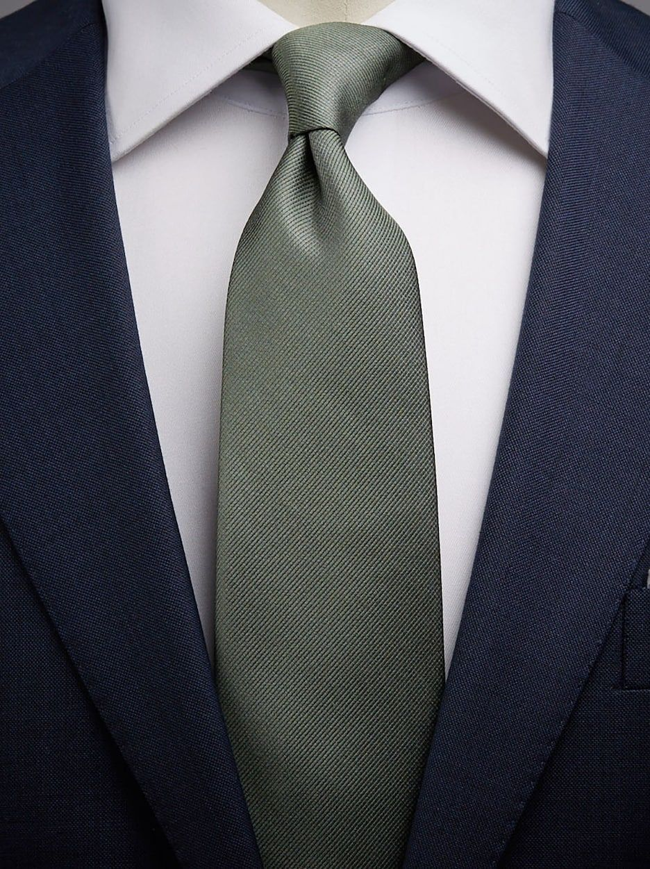 Olive Green Tie