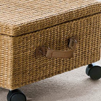 Underbed Storage Basket With Wheels Jeri S Organizing Decluttering News How To Nicely Store Stuff