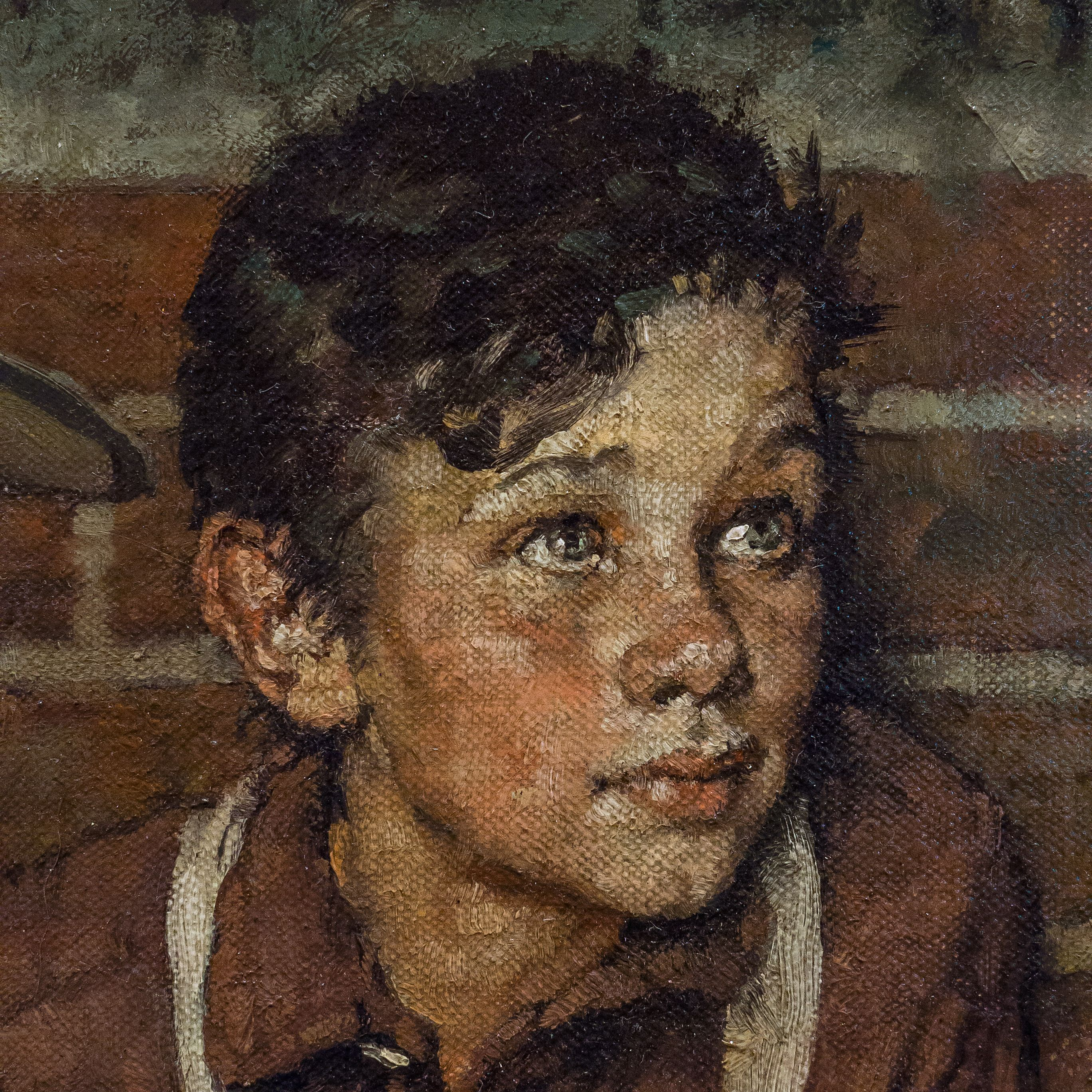 Blacksmith S Boy Heel And Toe By Norman Rockwell 1940