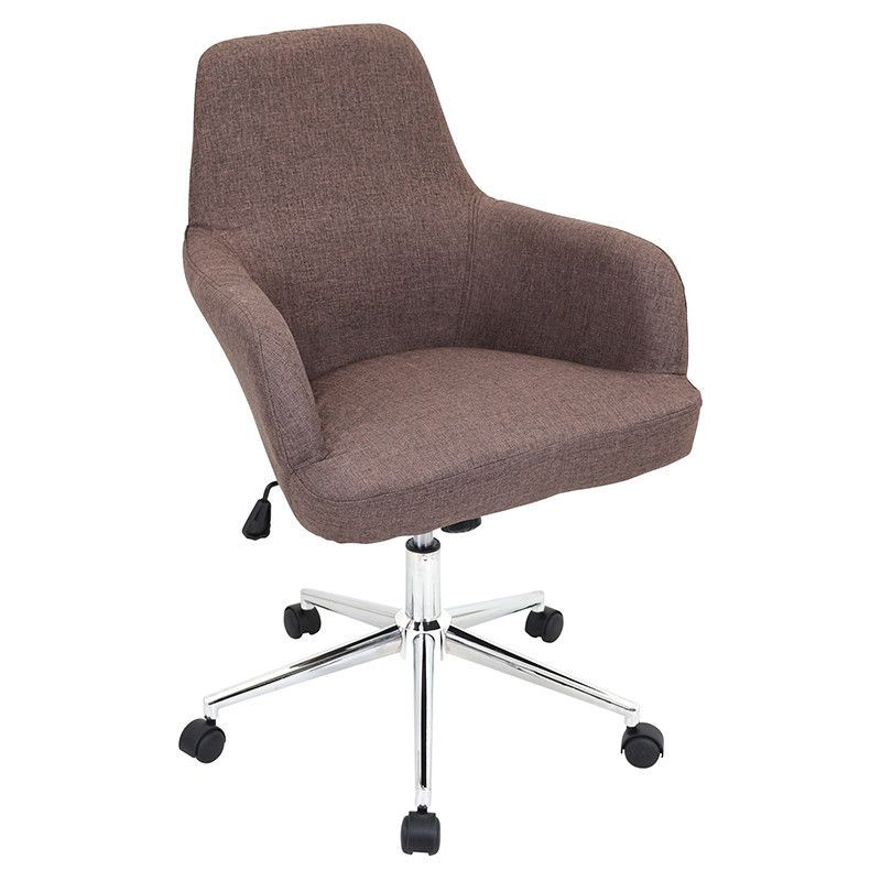 LumiSource OFC-AC-DGR BN Degree Office Chair Brown