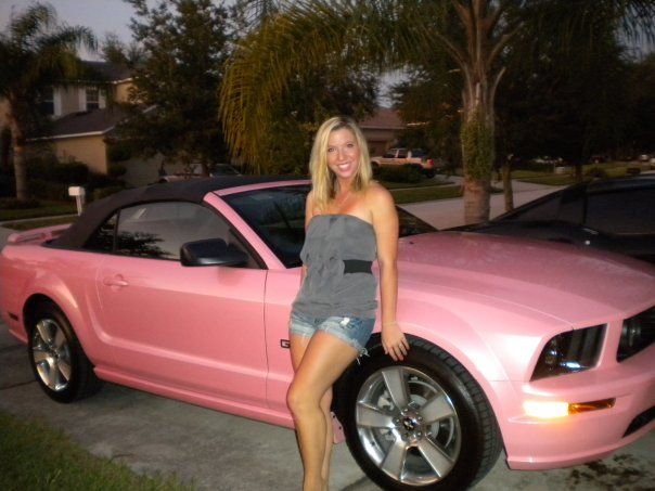 my pink mustang gt best car ever