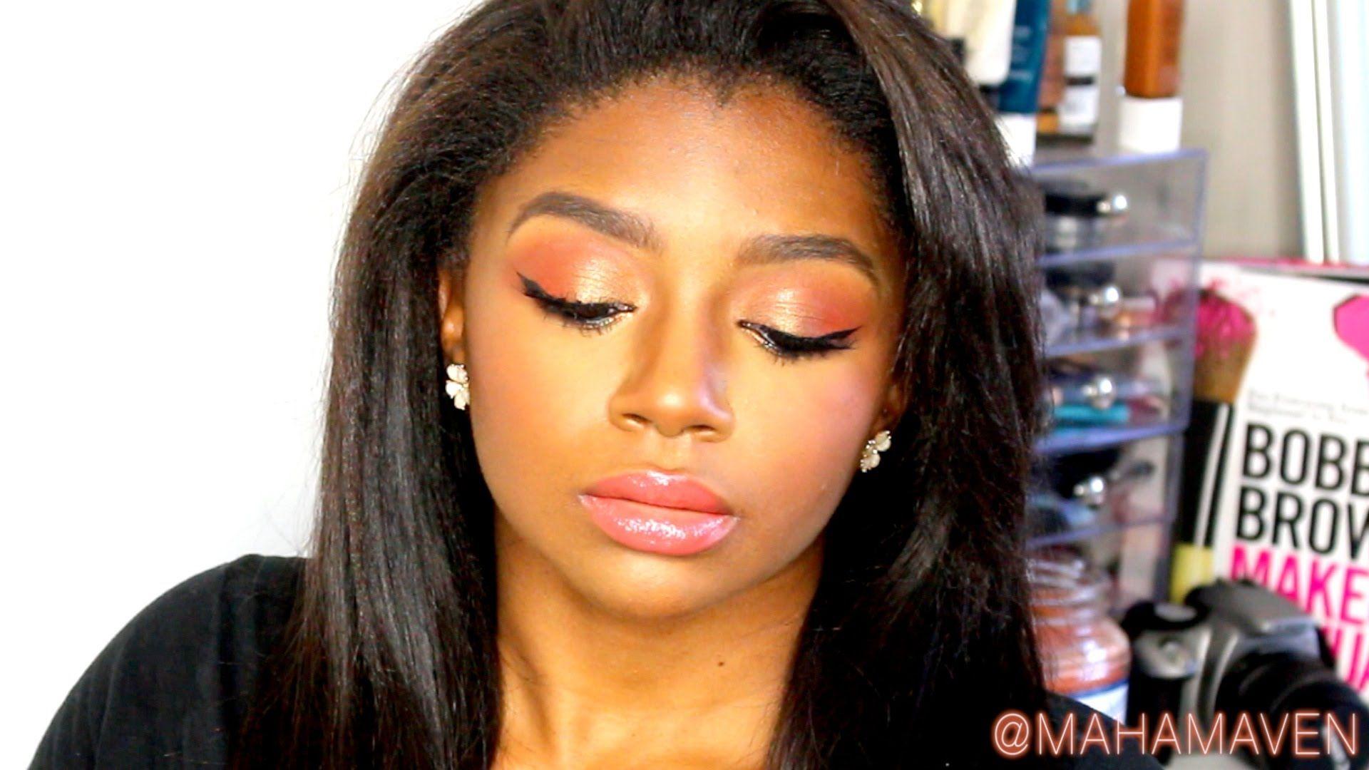 This makeup look was inspired by Nicki Minaj's video