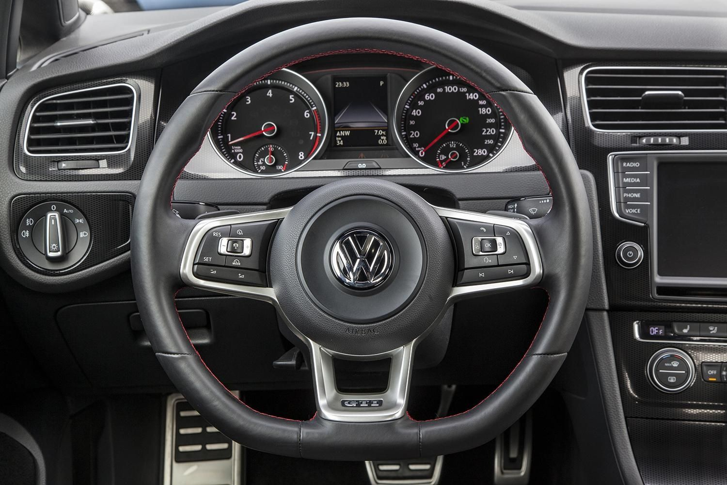 First Drive 2015 Volkswagen Golf Gti Digital Trends Volkswagen Golf Gti Golf Gti Gti