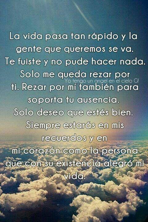 Hasta El Cielo Frases Frases De Consuelo Y Papas En El Cielo