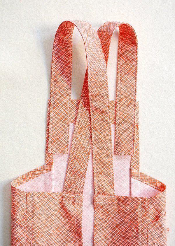 Cross Back Apron Purl Soho Apron sewing pattern, Diy