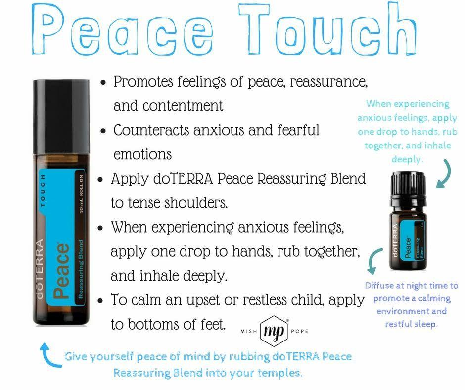Doterra Peace   essential oils   Doterra essential oils ...