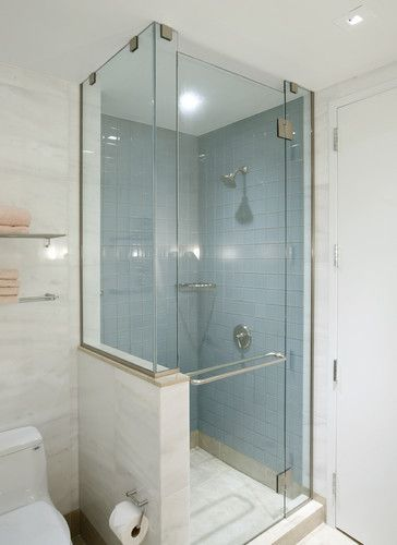 Shower Knee Wall Bath Design Ideas Pictures Remodel And Decor
