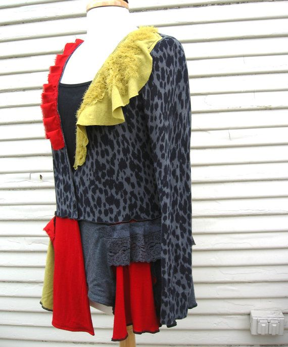 Bohemian Kouture Upcycled Clothing Pixie By