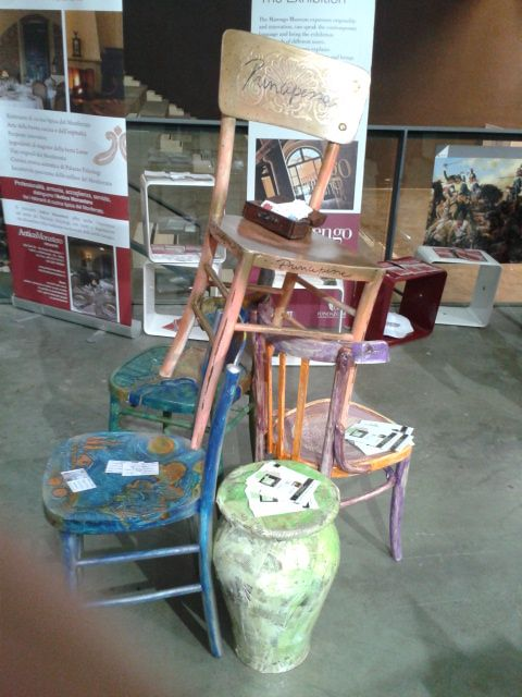 sedie-restyling by Elisabetta Chiappino Design