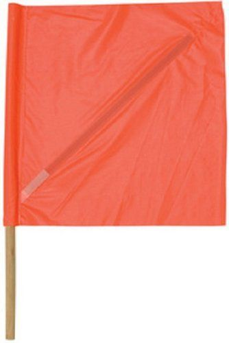 Safety Flag Sfp24 30 24 Inch Vinyl Safety Flags With Dowel Red Orange By Safety Flag 8 26 From The Manufacturer Wind Sock Flag Material Handling Equipment
