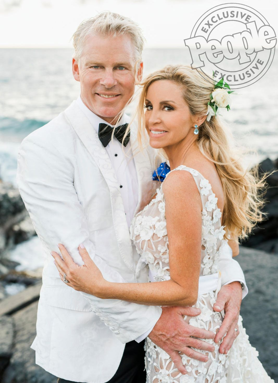 Inside Camille Grammer S Hawaiian Wedding It Was Like Something