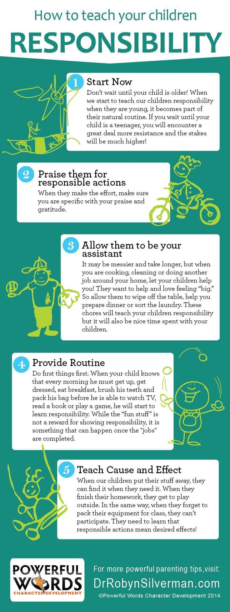 How To Teach Your Child Responsibility Kids parenting