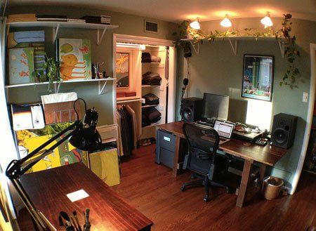 Workspace of the week all in one home office music studio