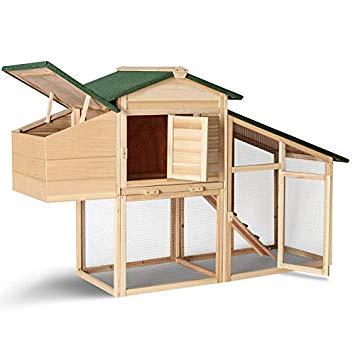 Idmarket Poulailler Comfort Avec Pondoir En Bois Amazon Fr Animalerie Toy Car Wooden Toys Drafting Desk
