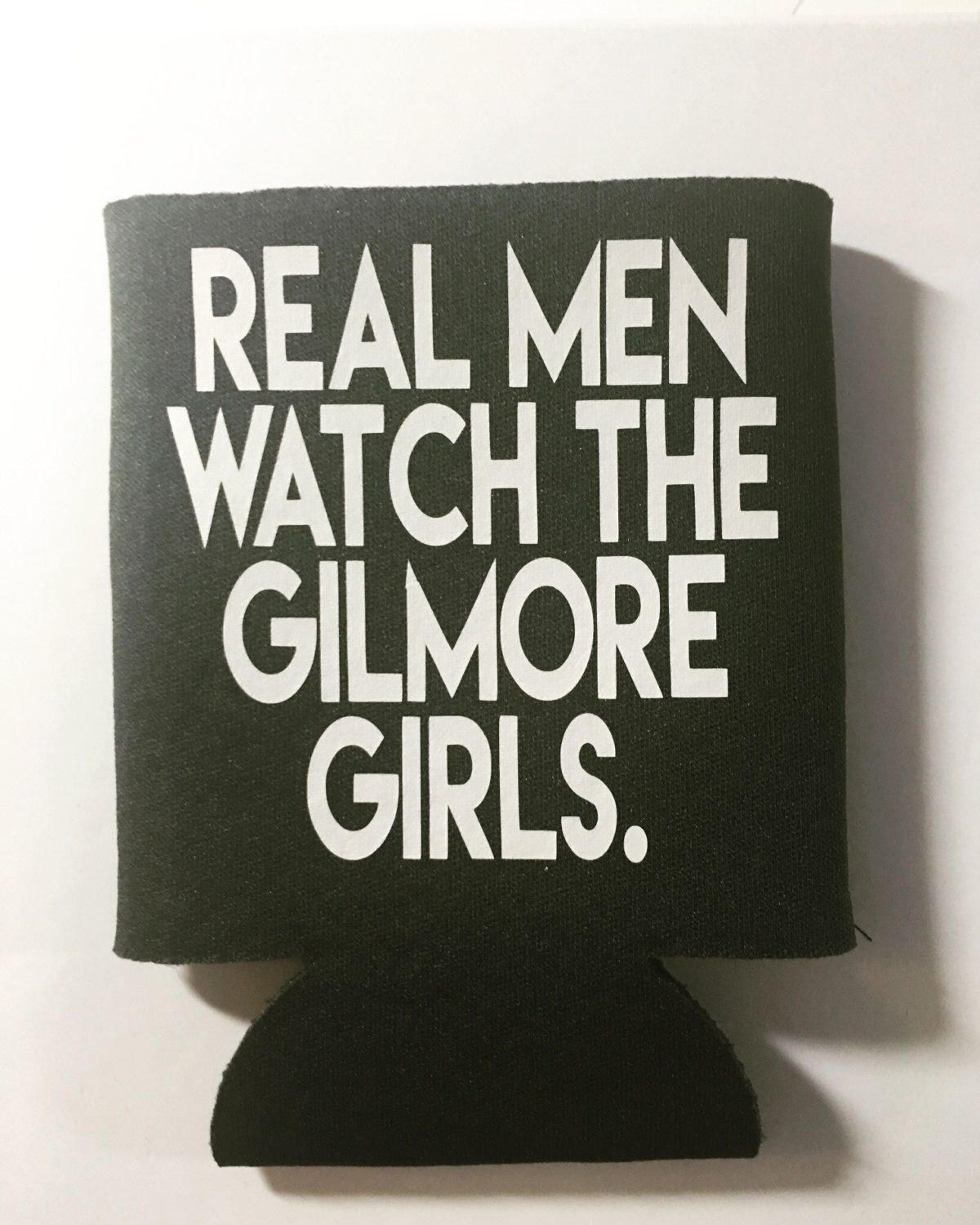 A personal favorite from my Etsy shop https://www.etsy.com/listing/469718945/real-men-watch-the-gilmore-girls-can