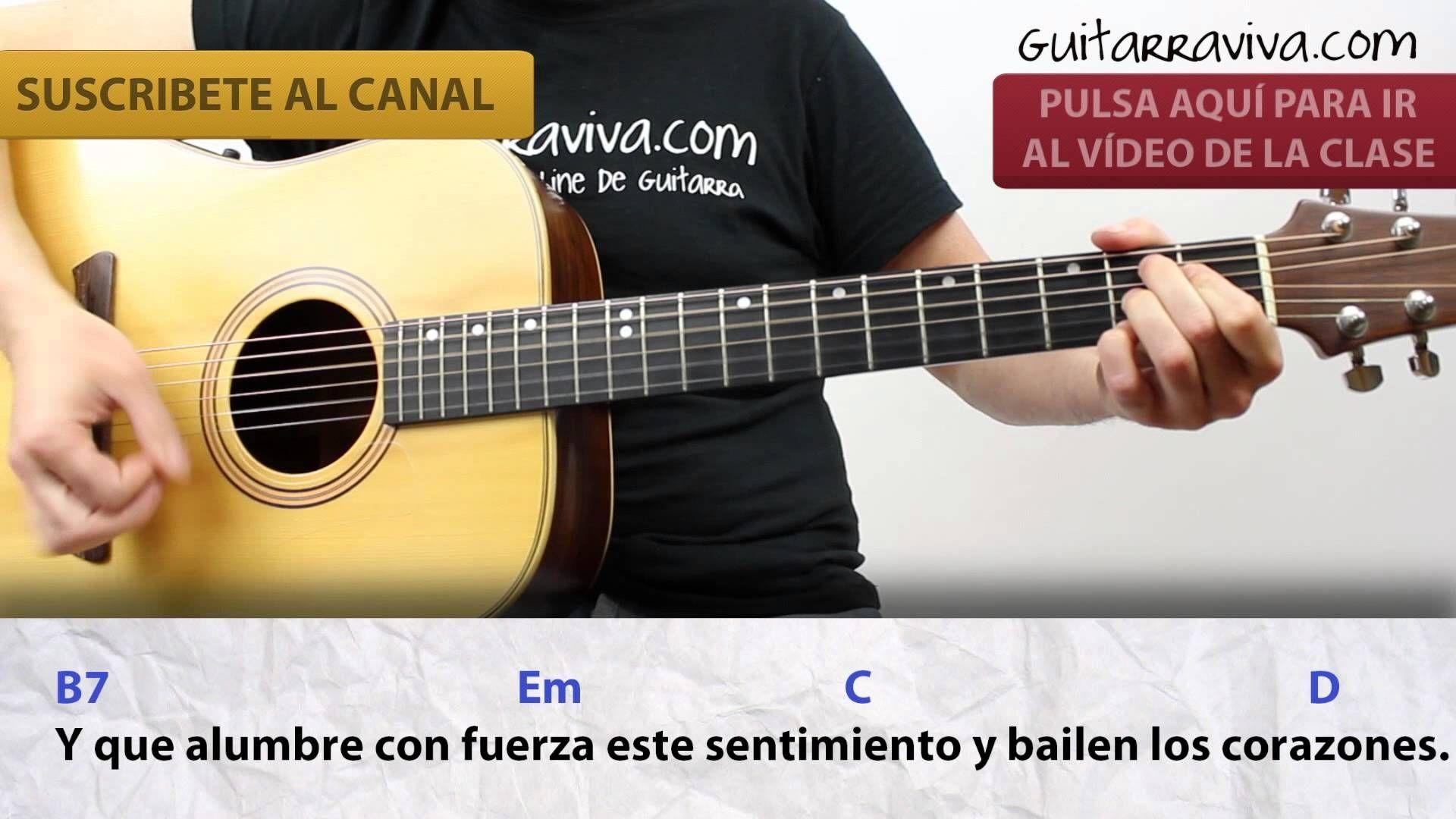 Melendi Acordes Tu Jardín Con Enanitos CLASE guitarra | VIDEOS ...