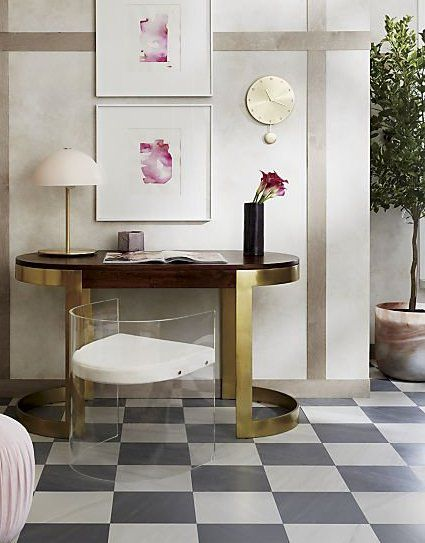 Bring rustic-chic appeal to your home office or library ...