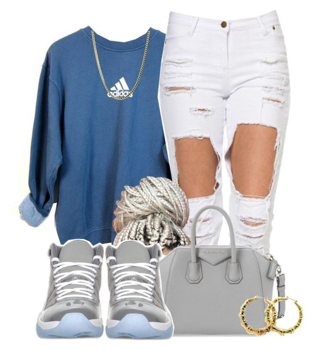"""""""Untitled #562"""" by b-elkstone ❤ liked on Polyvore featuring adidas, Givenchy, Retrò, Fergie, women's clothing, women's fashion, women, female, woman and misses"""