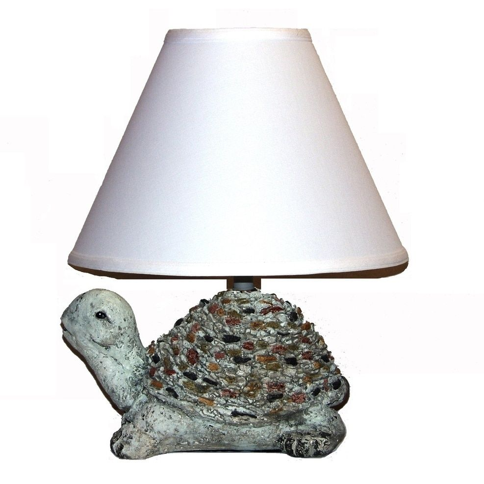 Crown lighting 1 light ceramic turtle table lamp green turtle crown lighting 1 light ceramic turtle table lamp green mozeypictures Gallery