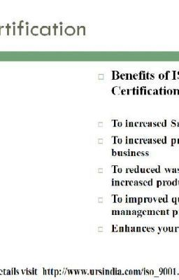 Iso 9001 Certification Qms Iso 9001 Standard Requirement For