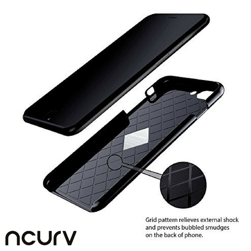 Full Black Jacket for #iPhone7 comes with grid pattern to protect from external shock and bumbled smudges: http://ow.ly/jtyZ307vJsD