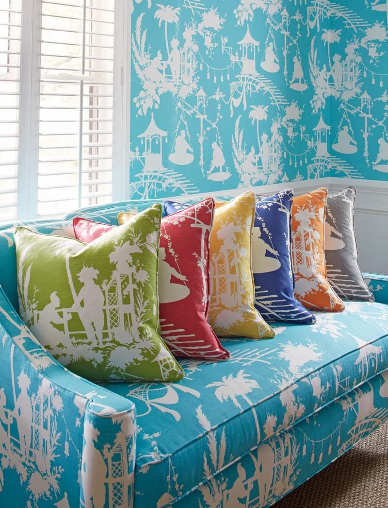 {friday finds thibaut wallpaper sale} Chinoiserie