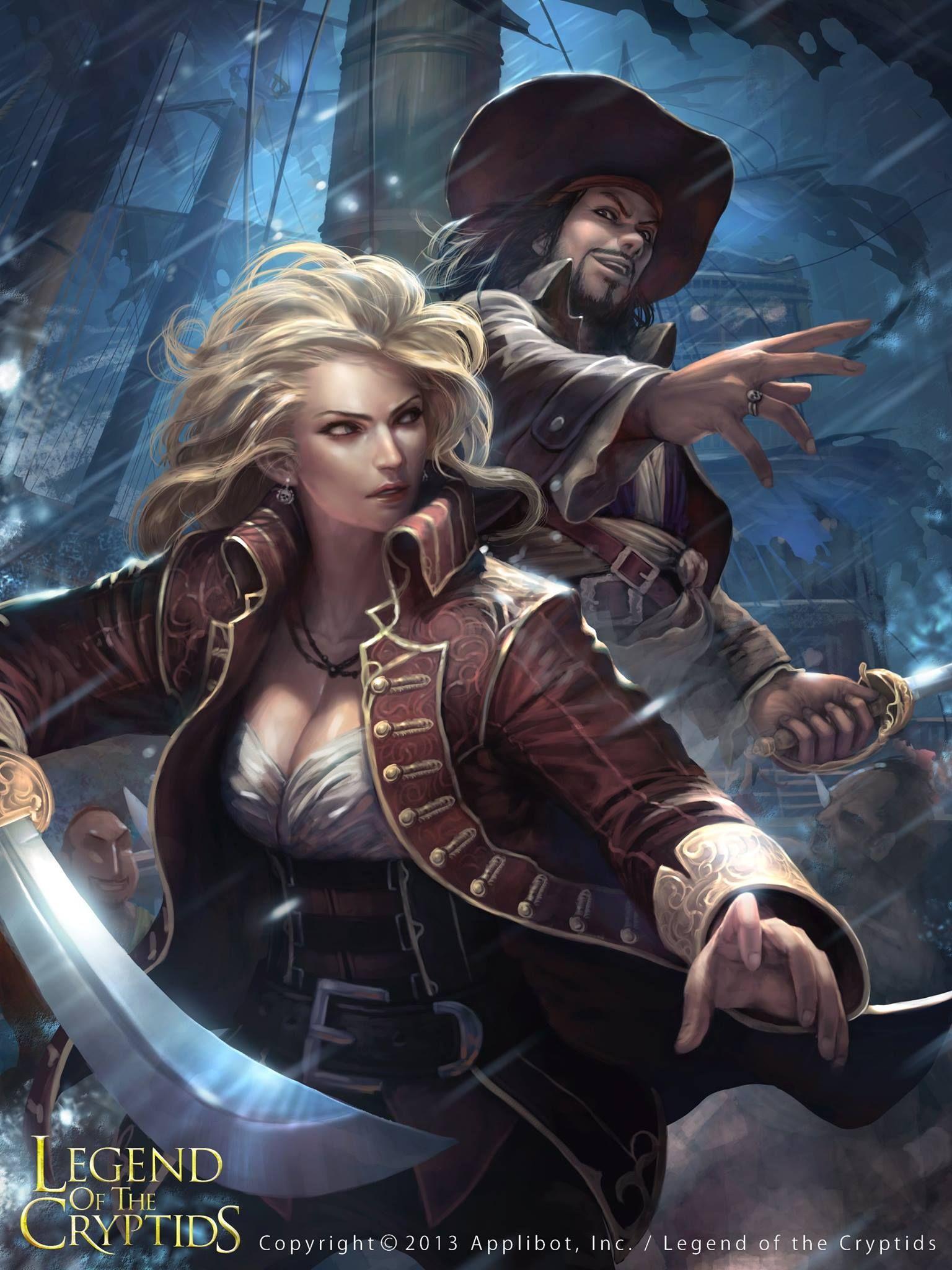 Pirate Women Art