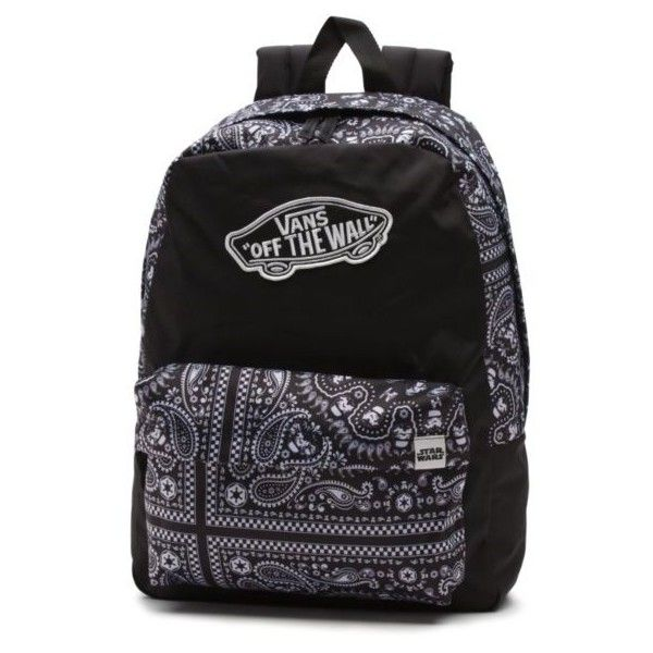 e09d22c3da Vans X Star Wars Stormtrooper Realm Backpack ( 43) ❤ liked on Polyvore  featuring bags