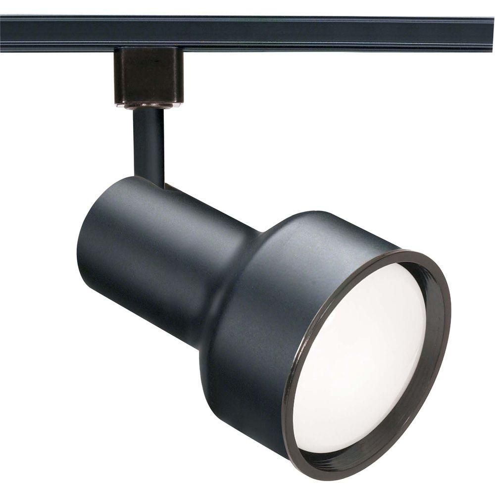 Light Black Incandescent Track Lighting