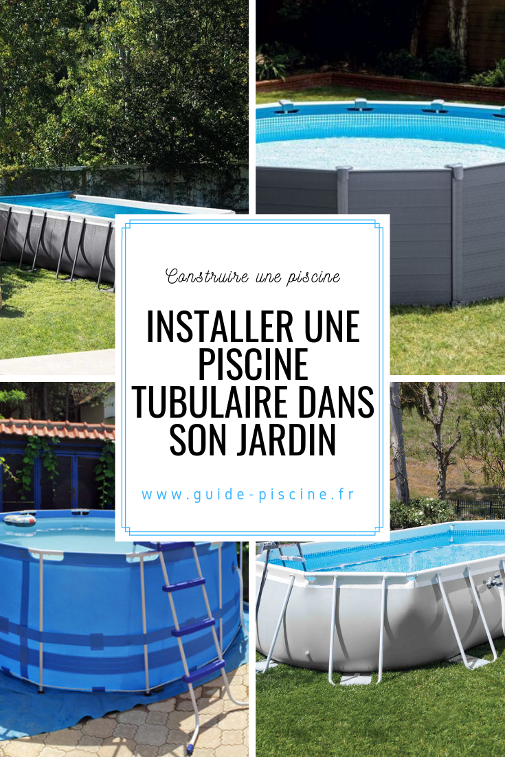 Comment Monter Une Piscine Hors Sol la piscine tubulaire : une piscine hors sol vendue en kit