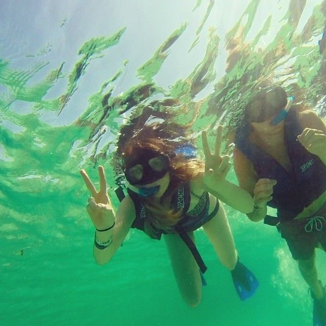When Was The First Time You Went Snorkeling? Vacation