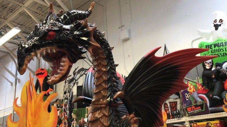 Home Depot Halloween Decorations & Animatronics - Store ...