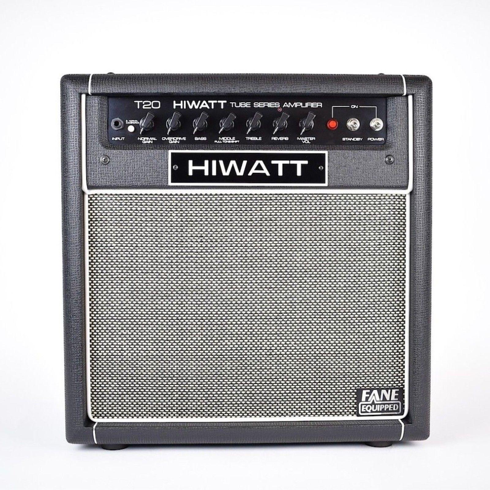 Hiwatt t20 c 20w combo amp class a