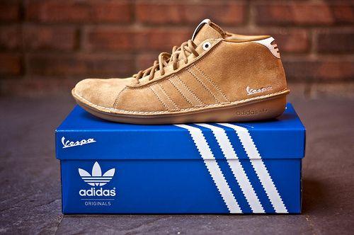 premium selection 78cbd 14c2b Adidas Vespa sneaker line