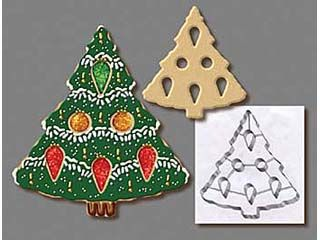 Christmas Tree Cookie Cutter 7-1/2""