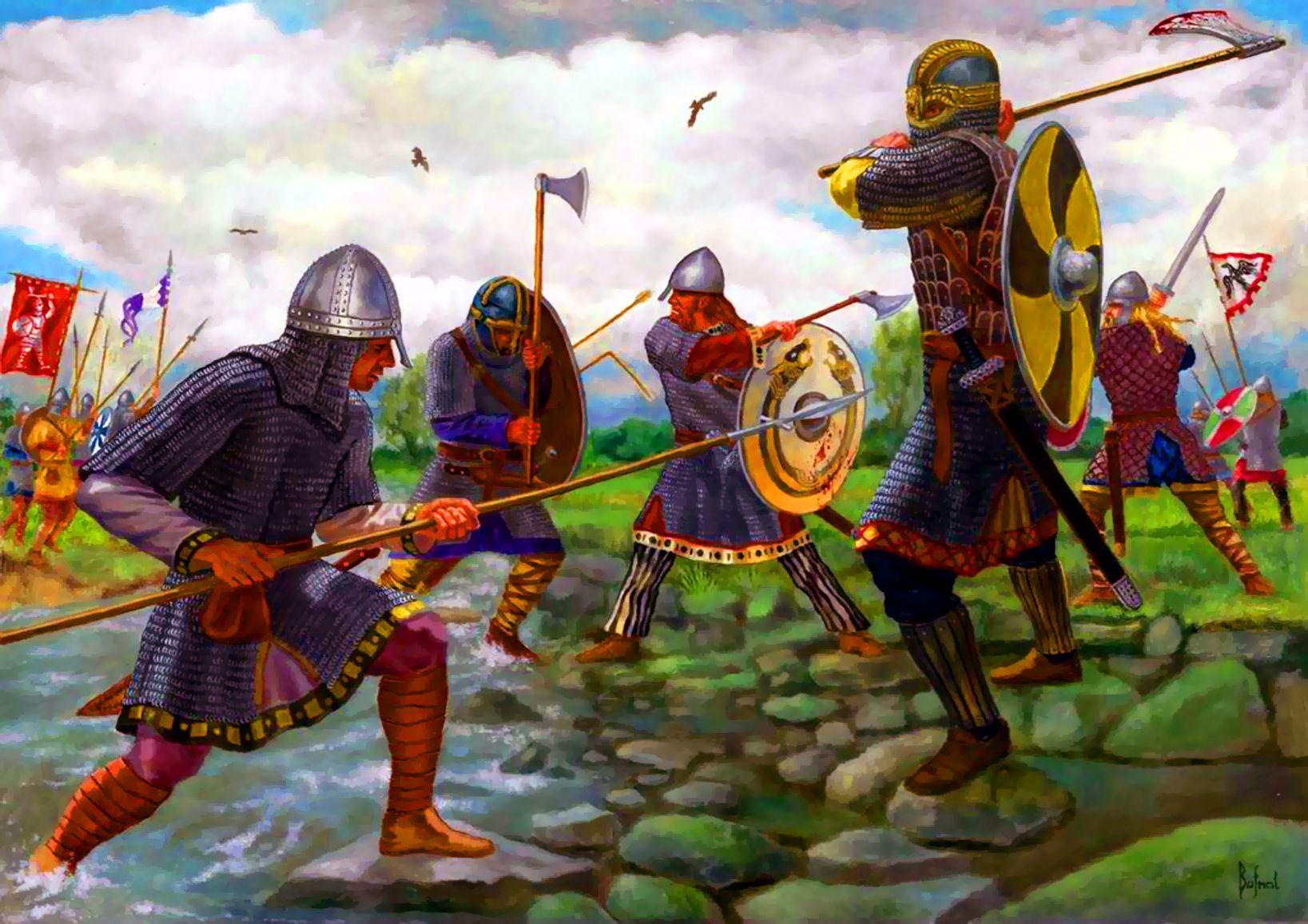 Anglo Saxons Vs Vikings