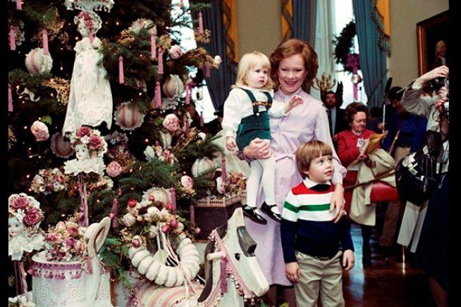 Rosalynn Carter White House Christmas Tree White House