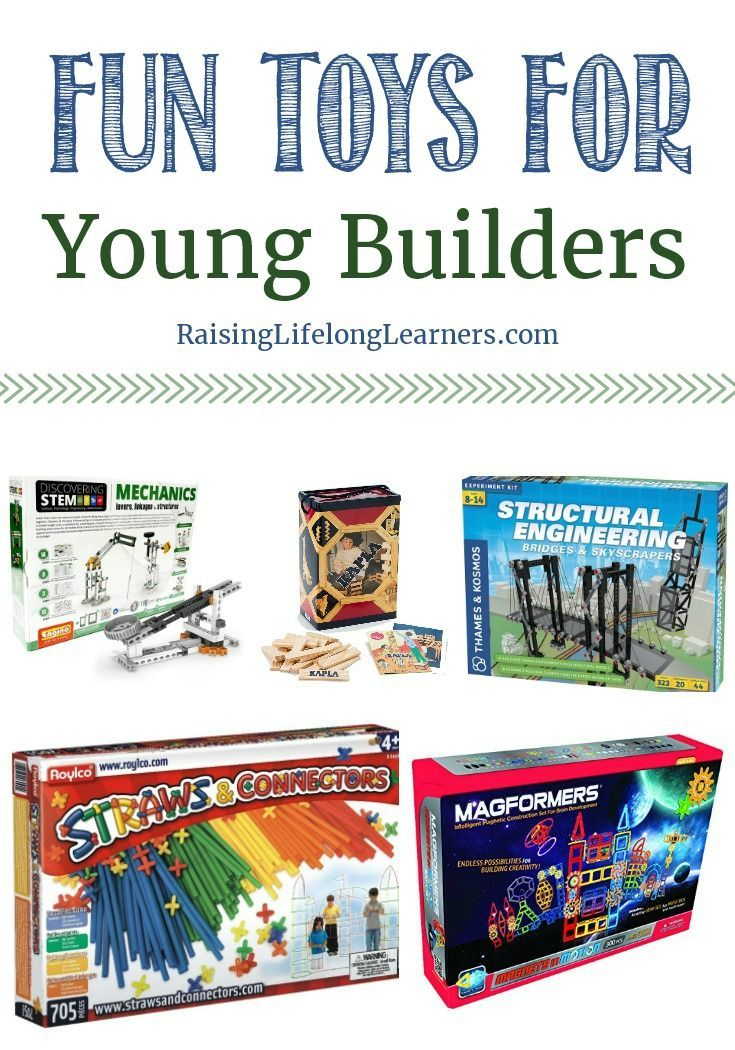 Toys for Young Builders   Creative activities for kids ...