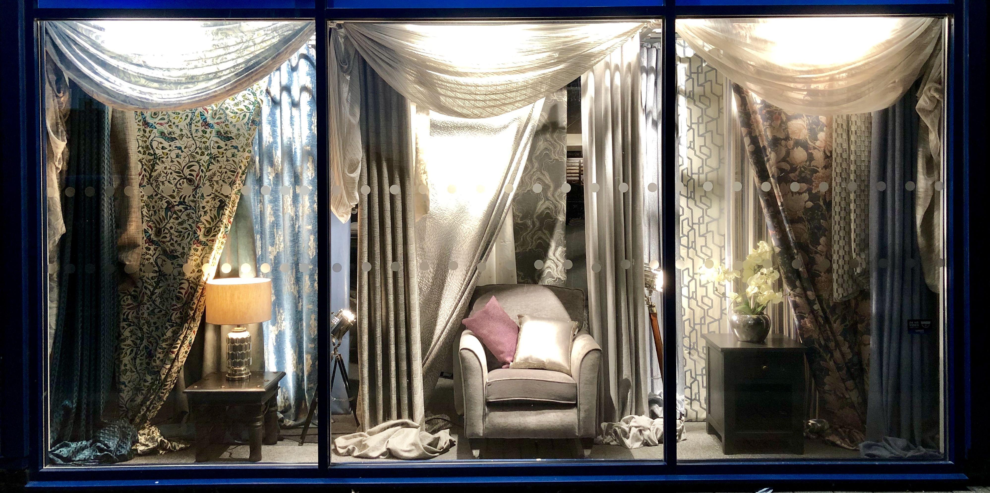 Ray Paul Interiors Curtain Shop Window Display Showroom