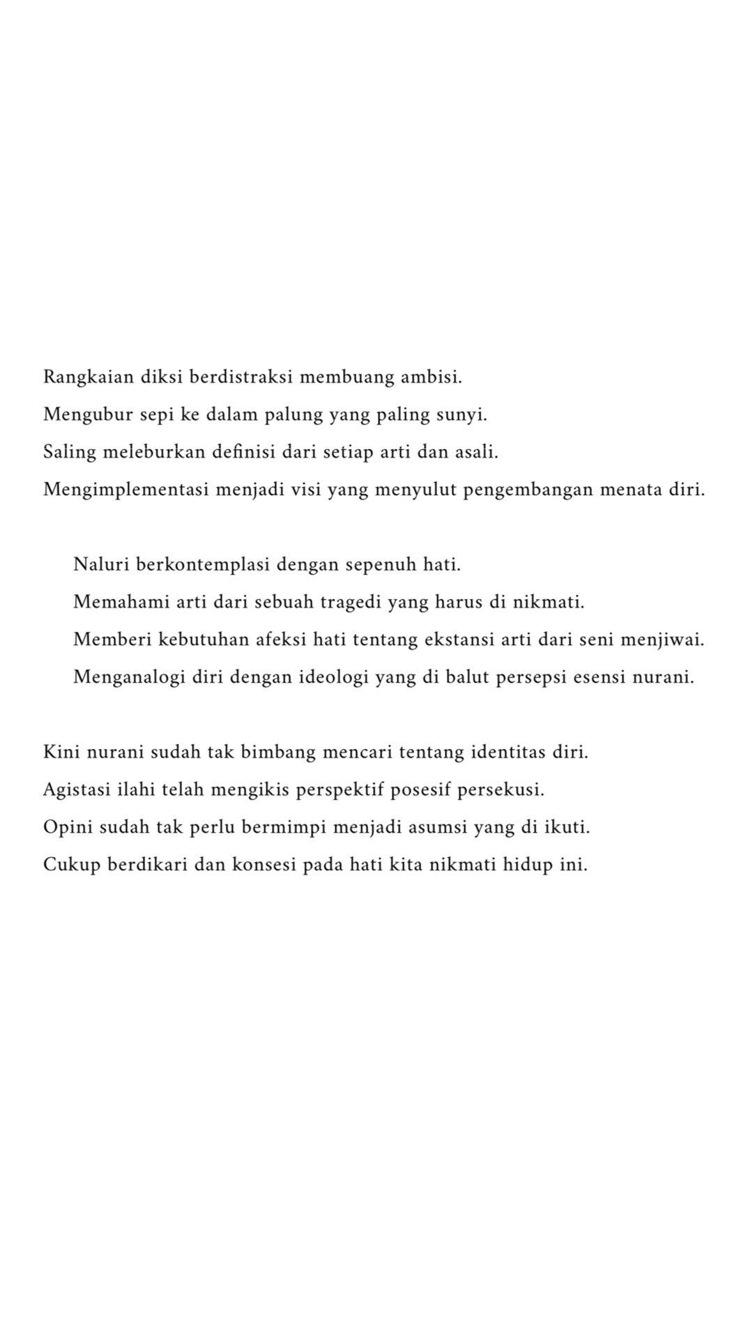 Abstraksi Diksi Kutipan Remaja Kutipan Kutipan Puisi