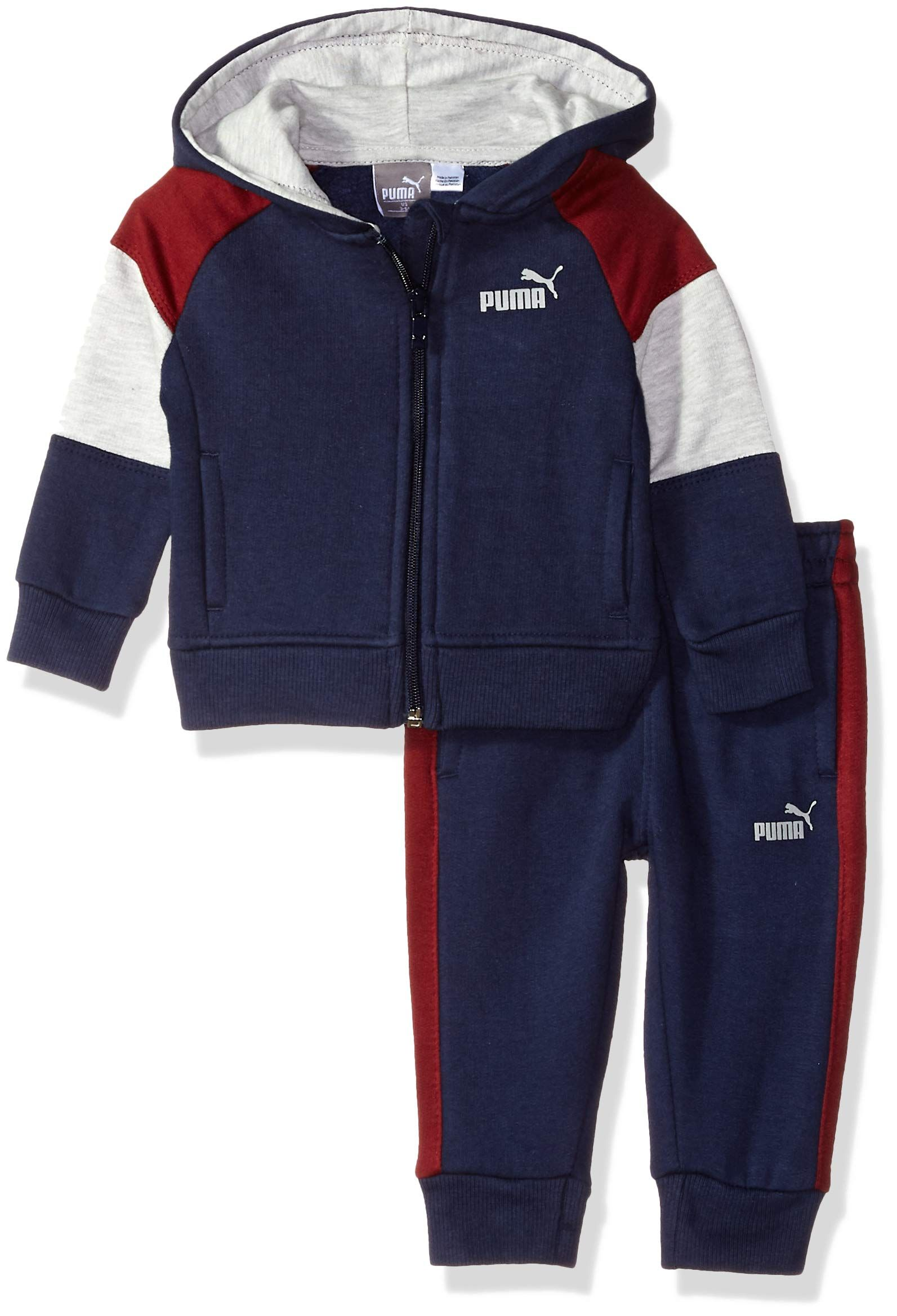 Puma Pullover Grün Look 69take At Baby Peacoat Fleece Set Hoodie Boys Zip Up A