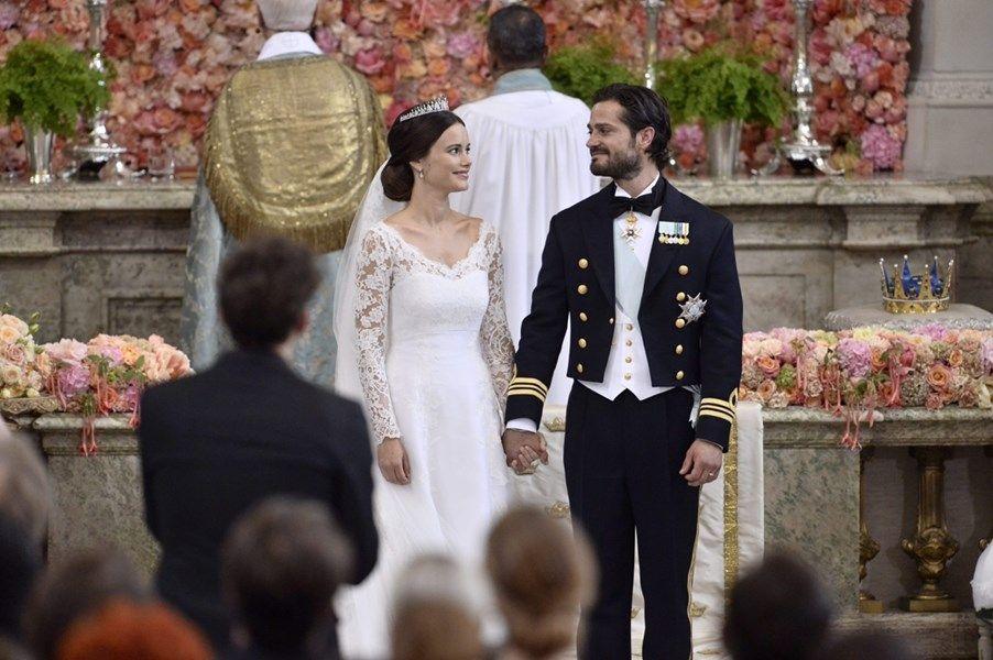 Zweedse prins Carl Philip in huwelijksbootje met ex-model So... - De Standaard