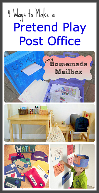 Home School Activity Dramatic Play Post Office