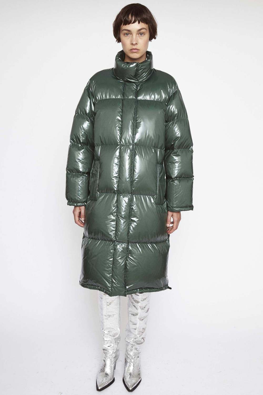 Madelina Coat Ii Forest Green Stand Studio Outdoor Fashion Forest Green Coat [ 1500 x 1000 Pixel ]