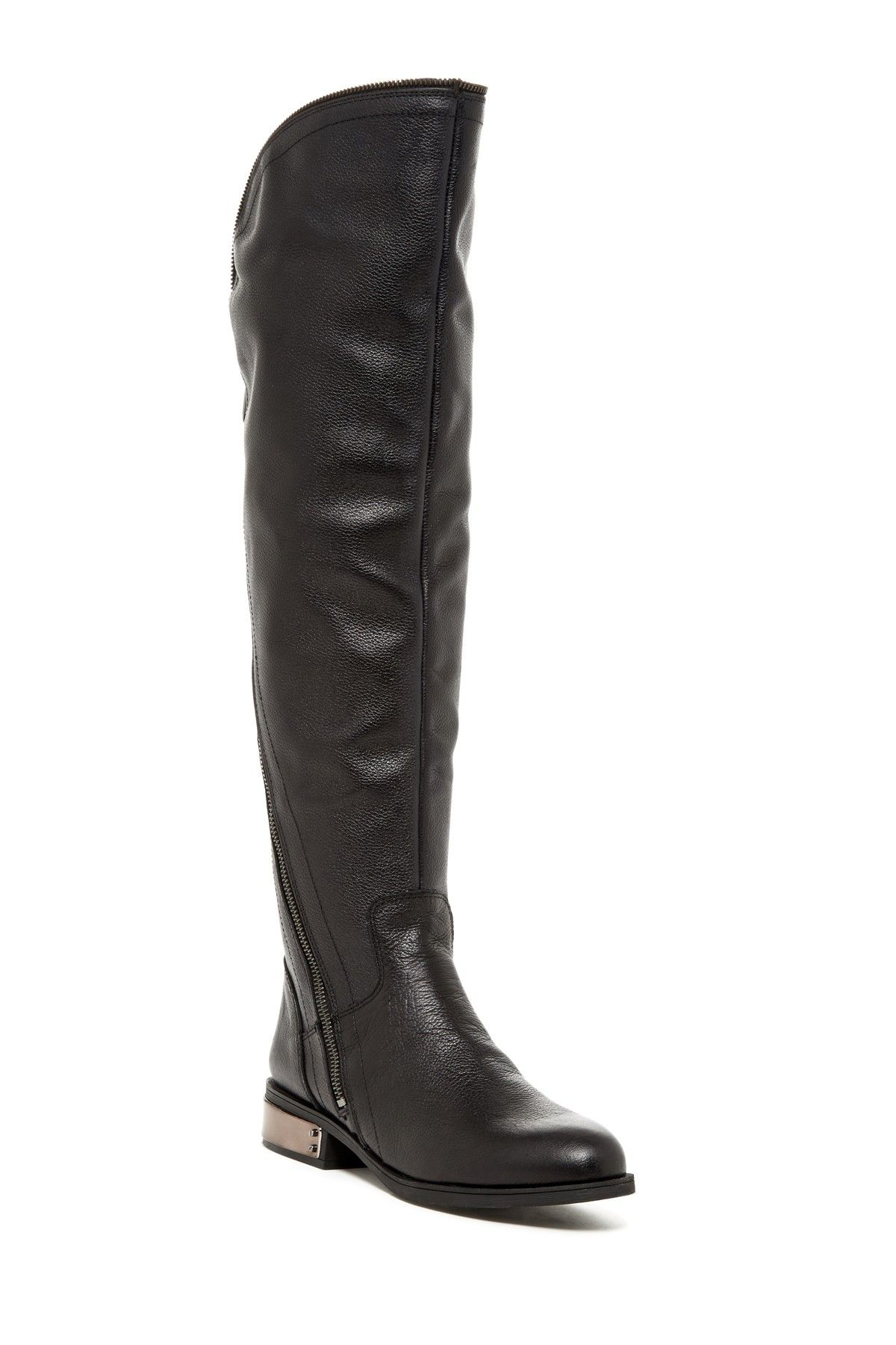 Navaro Knee High Leather Boot by Fergie