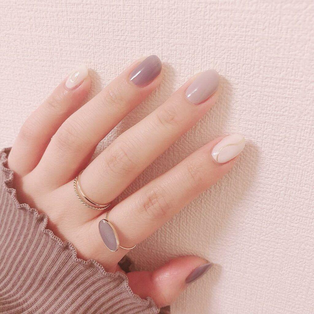 36 Natural Color Nail Art Designs 2019 Summer Small Flash In 2020 Minimal Nails Art Natural Color Nails Minimalist Nails
