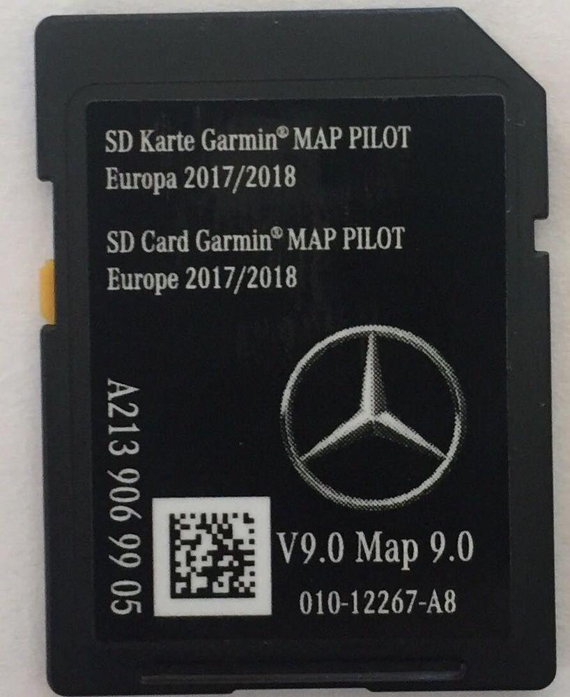 Garmin Europe Map Sd Card.Genuine New Mercedes Sd Card Garmin Map Pilot 2017 2018 V Genuine