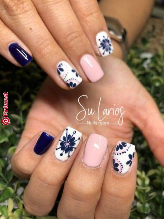 100 Trending Early Spring Nails Art Designs And Colors 2019 With