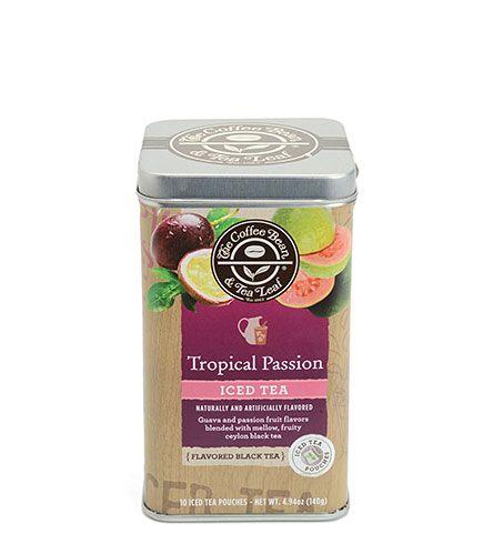 Orchard Peach Iced Tea The Coffee Bean & Tea Leaf
